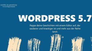 wordpress update 5.7