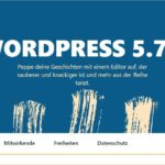 Wordpress update 5.7.1
