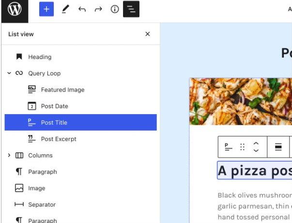 Überblick über die Seitenstruktur bei Wordpress